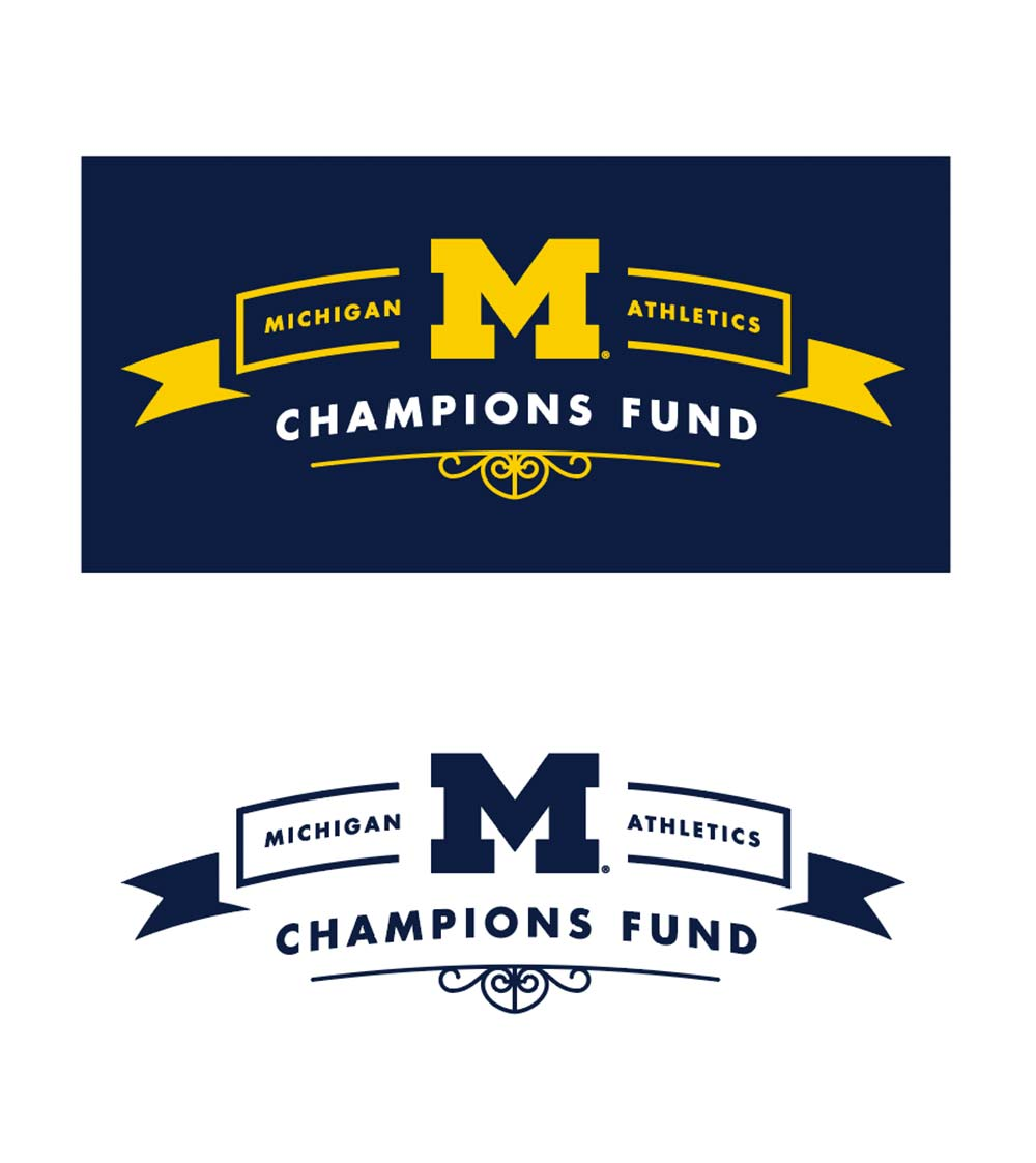 2018 Champions Fund Logo<br><span>University of Michigan</span>