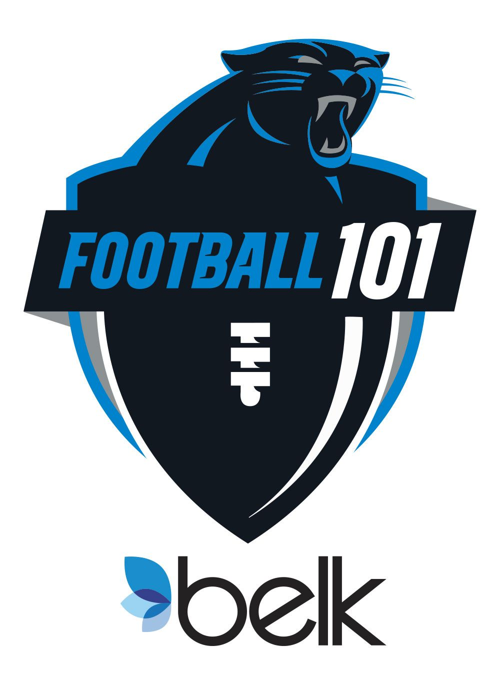 Football 101 Logo<br><span>Carolina Panthers</span>