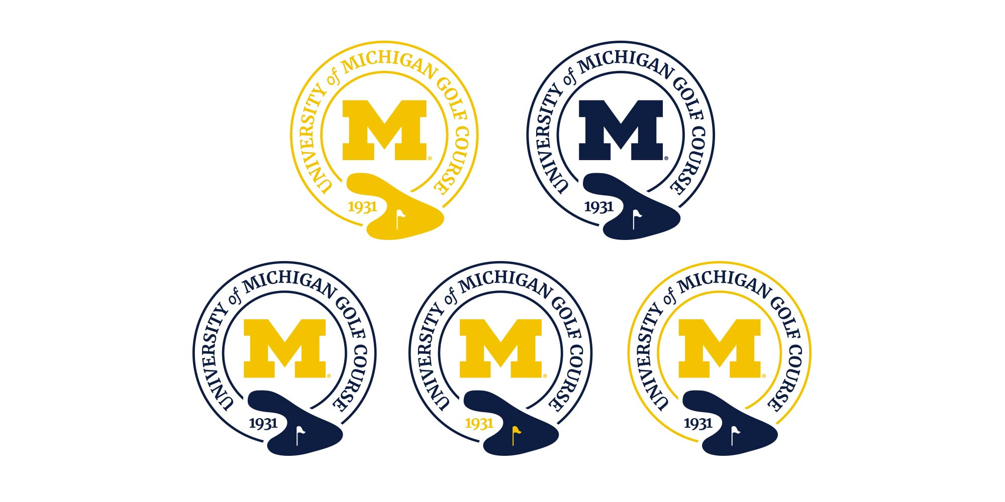 Golf Course Logo<br><span>University of Michigan</span>