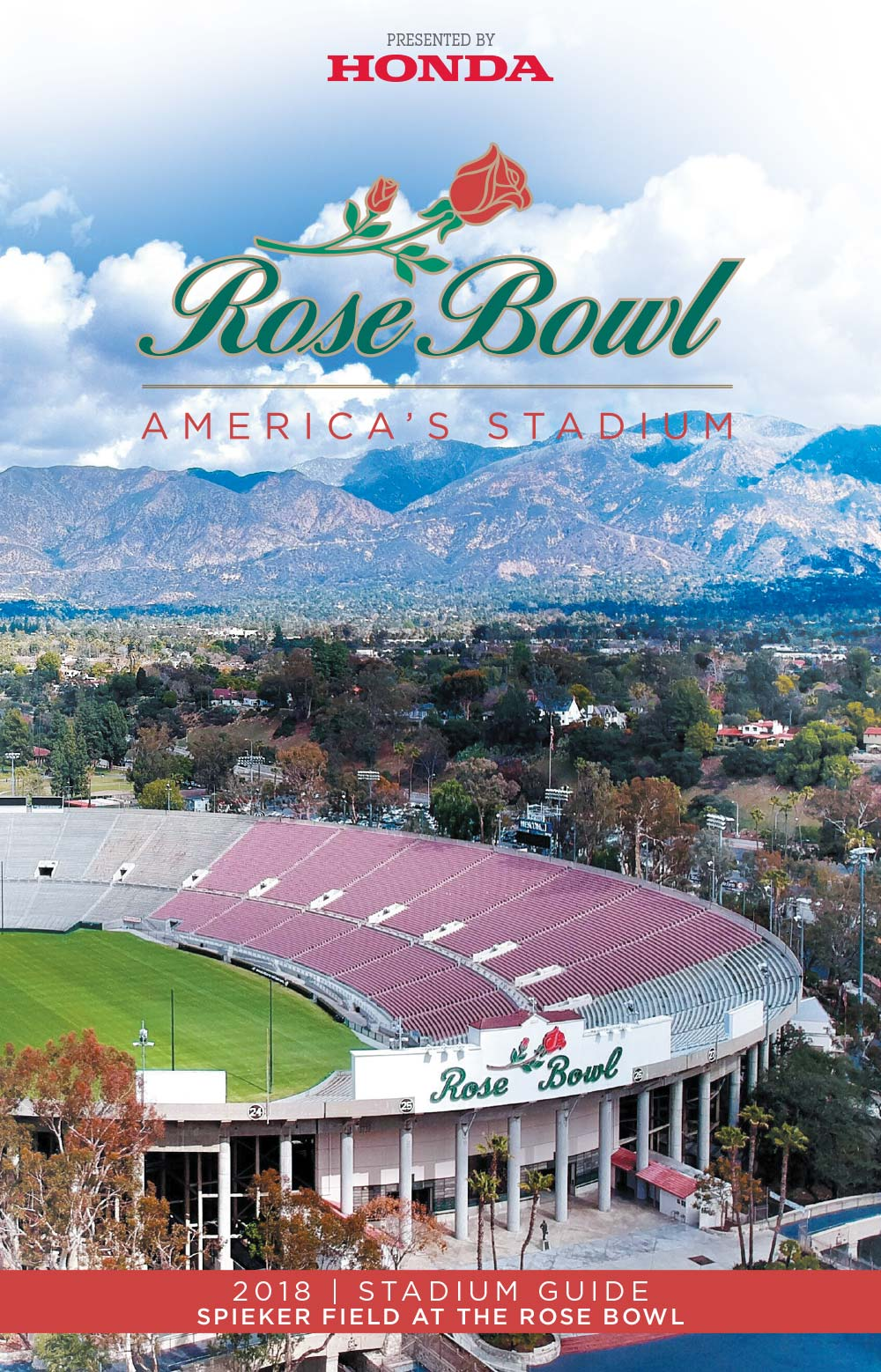 2018 Rose Bowl Stadium Guide<br><span>Rose Bowl Stadium</span>