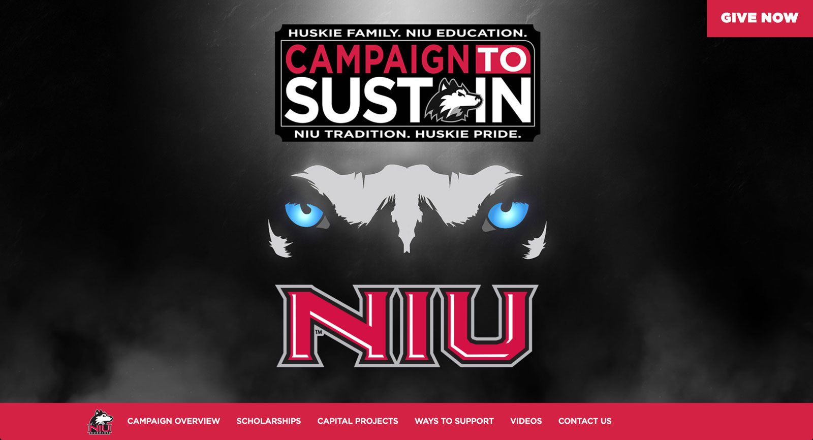 Campaign to Sustain Website  | <a href='http://niusustain.com/' target='_blank'>Visit Site <i class='nc-icon-glyph arrows-1_share-91'></i></a><br><span>Northern Illinois University</span>