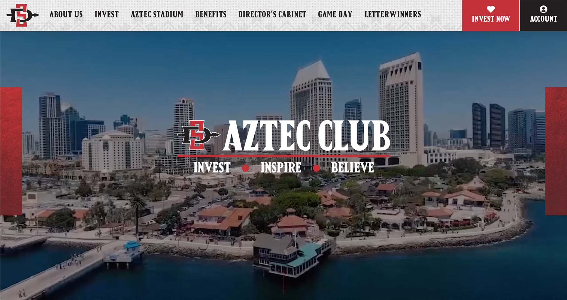 Aztec Club Website | <a href='https://sdsuaztecclub.com/' target='_blank'>Visit Site <i class='nc-icon-glyph arrows-1_share-91'></i></a><br><span>San Diego State University</span>