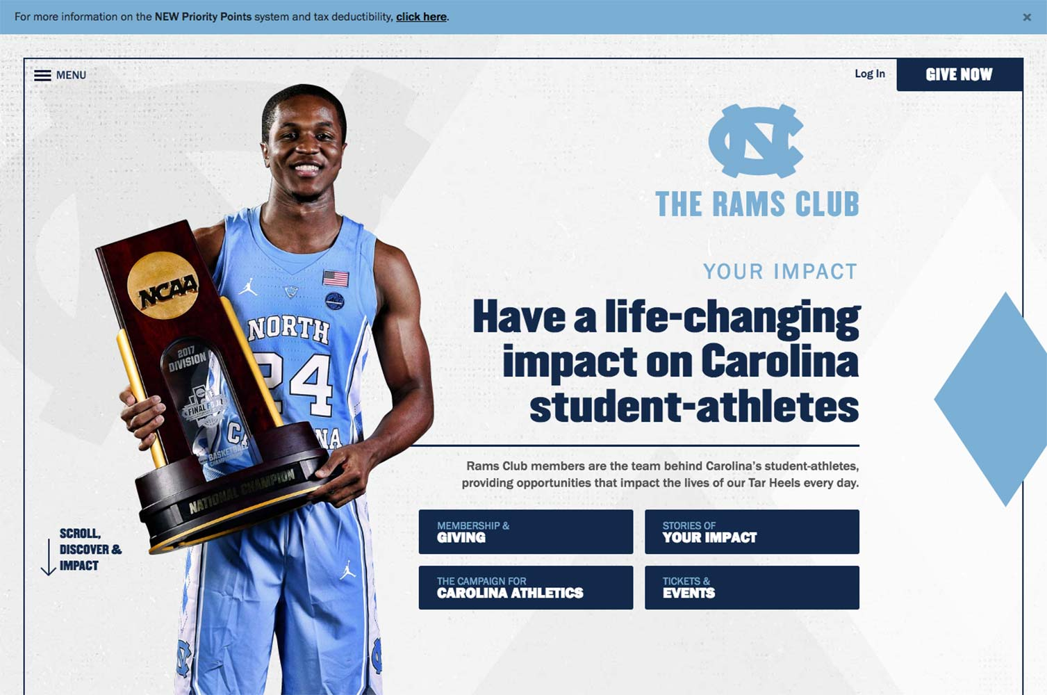 Rams Club Website  | <a href='https://ramsclub.com/' target='_blank'>Visit Site <i class='nc-icon-glyph arrows-1_share-91'></i></a><br><span>University of North Carolina</span>